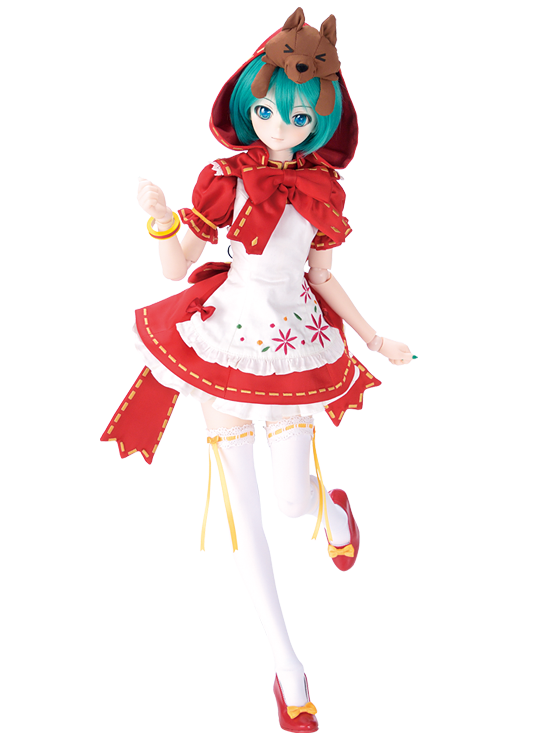 Vocaloid Hatsune Miku Little Red Riding Hood  Wolf Cosplay Cute Doll Toy Plush