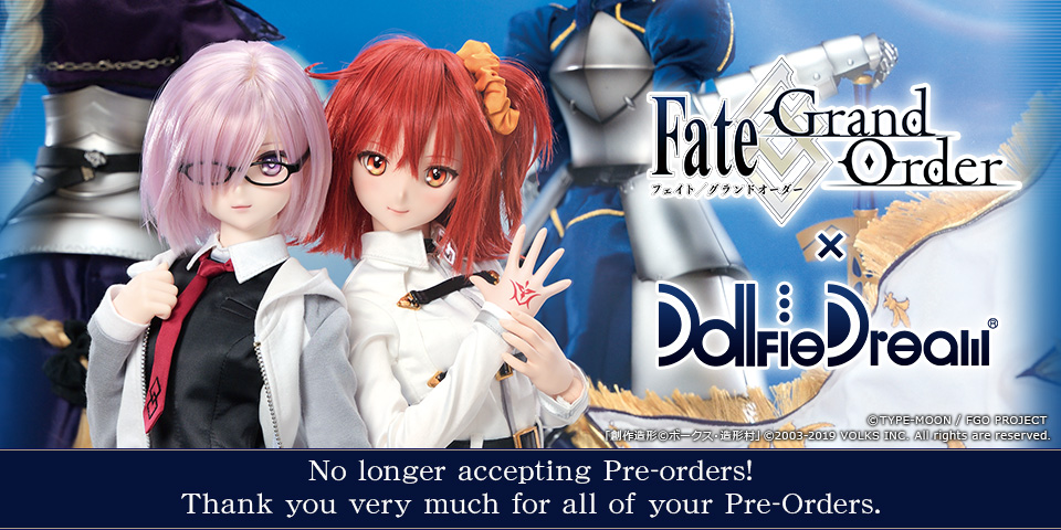 Limited DD Pre-order Project Fate/Grand Order × DD